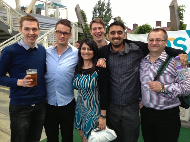 Matt Petts, James Rooke, Garima Arora, Alex Leman-Lawrie, Ghulam Arif, Chris Newhall