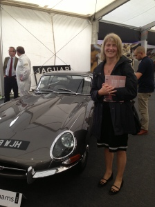 Rosie Shapland, partner at PWC with her favourite car
