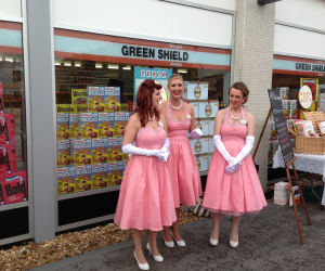 The pink ladies of Goodwood
