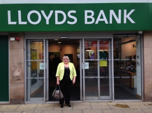 Liz at Lloyds