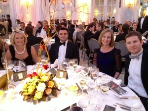 Team MTI at The Prince's Trust Dinner