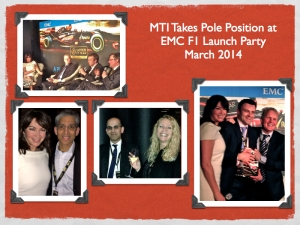 Photo album from EMC Lotus F1 team launch party