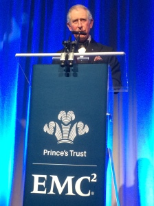 Prince Charles talks about The Prince's Trust's work