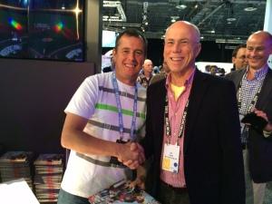 KC of MTI meets John McGuinness
