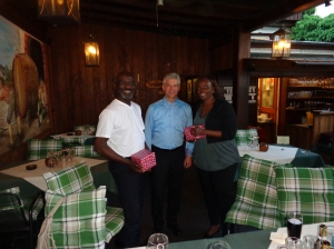 (L-R) Clarence, Rainer and Christine